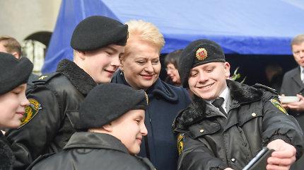 """Dalia Grybauskaitė: """"Narystė NATO – ne tik privilegija, bet ir pareiga"""""""