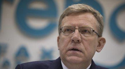 Aleksejus Kudrinas: vien dėl Krymo aneksijos Rusija praras 6–7 mlrd. dolerių per metus