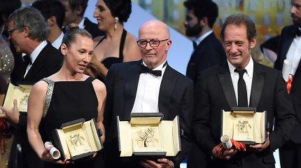 """Kanų kino festivalis: """"Auksinės palmės šakelė"""" įteikta tam, kurio niekas nelaikė favoritu"""