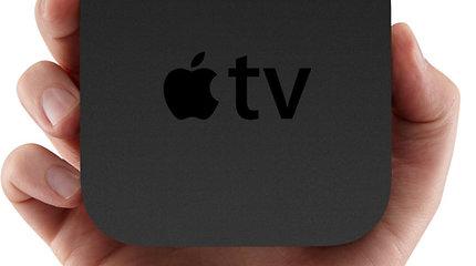 """Lietuvoje pradedama prekyba dar vienu revoliuciniu prietaisu – """"Apple TV"""""""