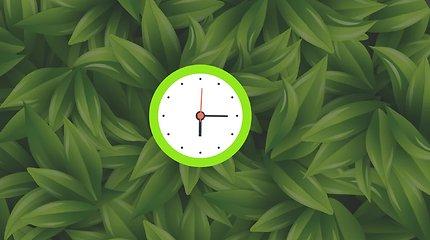 Kodėl du kartus per metus sukame laikrodžius?
