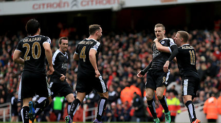 """Komanda iš kitos planetos: kiek dabar kainuotų startinė """"Leicester City"""" sudėtis?"""