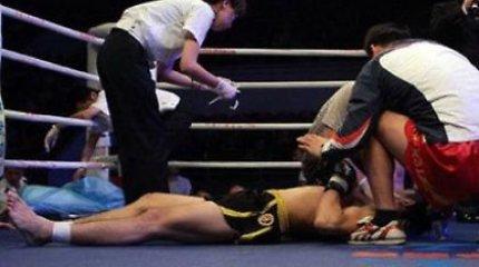 Azerbaidžane kovotojas mirė ringe
