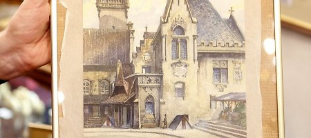 Aukcione parduotas Adolfo Hitlerio paveikslas