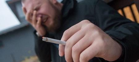 Zarasų rajono rekordininkas – 1 680 pakelių nelegalių cigarečių turėjęs vyras