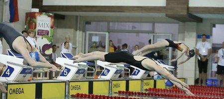 Kauno plaukimo centras kviečia vaikus mokytis plaukti