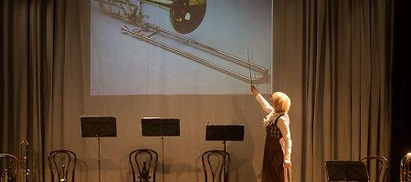 Keistuolių teatre – profesionalių muzikantų pamokos vaikams