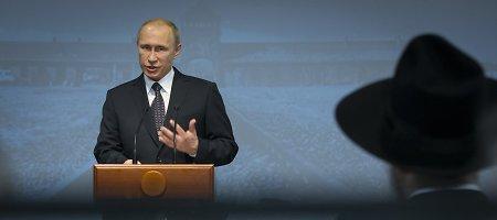 Aušvico išvadavimo 70-osios metinės V.Putinui – proga apjuodinti Baltijos šalis ir Ukrainą