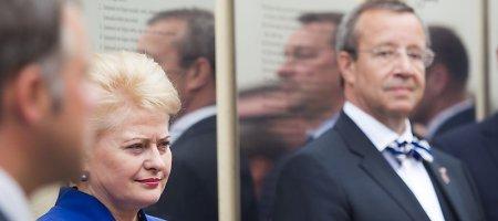 """Estijos prezidentas Toomas Ilvesas ramesnis už D.Grybauskaitę: """"Puls Rusija? Tai kvaila"""""""