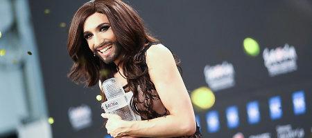 """2014-ųjų """"Eurovizija"""" pasiekė žiūrimumo rekordą"""