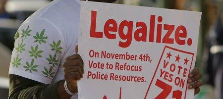 Rinkėjai pasisakė už kanapių legalizavimą Oregone, Aliaskoje ir JAV sostinėje
