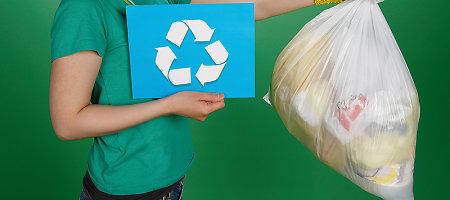 Kalifornija uždraudė plastikinius maišelius