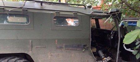 """Girti GRU """"specnazo"""" kariai su šarvuočiu """"Tigr"""" Rostove traiškė mašinas ir žmones"""