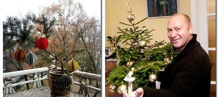 Mano Kalėdos: švenčių nemėgstantis Jurijus Smoriginas Kalėdas vadina dirbtiniu spektakliu