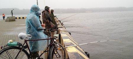 Žvejai užgulė Kuršių marių pakrantes – prasideda stintmetis