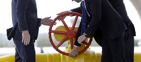 Ukraina pradėjo importuoti dujas per Slovakiją