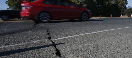 Prie Guamo įvyko 7,1 balo žemės drebėjimas