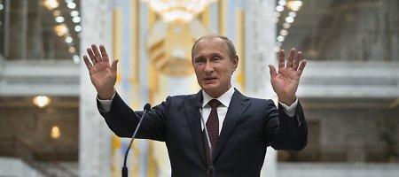 Vladimiro Putino pažadas: 2018-ųjų pasaulio futbolo čempionate sirgaliai važinės nemokamai