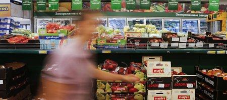 Kaliningrado srities parduotuvės: obuolių nėra, tuoj iš viso nieko nebus