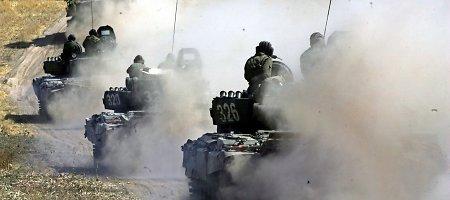 Britų šaltinis: Ukrainoje – iki 5000 Rusijos karių