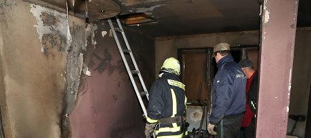 Šilalės rajone per gaisrą gyvenamajame name žuvo vyras