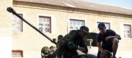 Sužvėrėję Kremliaus smogikai trukdė Ukrainos kariams ištrūkti iš Ilovaisko