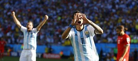 L.Messi viešpatavimas Argentinoje baigėsi – geriausiu šalies futbolininku tapo A.Di Maria