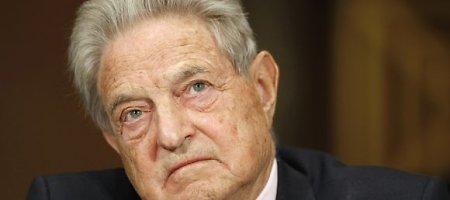 George'as Sorosas ragina Europą atsibusti ir gelbėti Ukrainą