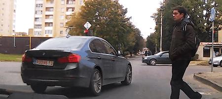 """Fotopolicija: """"Volkswagen"""" – be sąžinės, BMW – be stabdžių"""