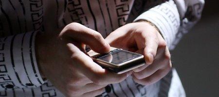 Trečdalis gyventojų yra bent kartą praradę telefoną