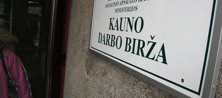 Kauno regione gegužę buvo mažiausias nedarbas per trejus metus