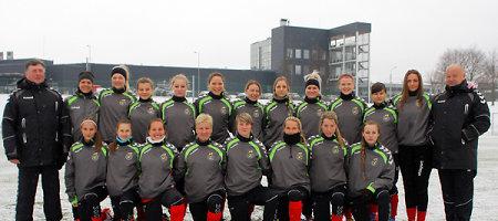 FIFA moterų futbolo rinktinių reitinge Lietuvos futbolininkės išsaugojo 90-ąją poziciją