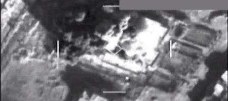 Pentagonas paskelbė bombardavimų Sirijoje vaizdo medžiagą