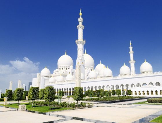 Novaturo nuotr./Šeicho Zayed Baltoji mečetė Abu Dabyje