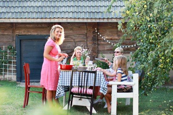 """TV3 nuotr./Laidos """"Beatos virtuvė"""" filmavimas"""