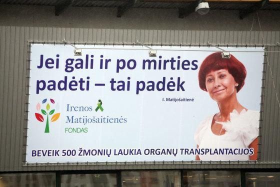 Irenos Matijošaitienės socialiniai plakatai