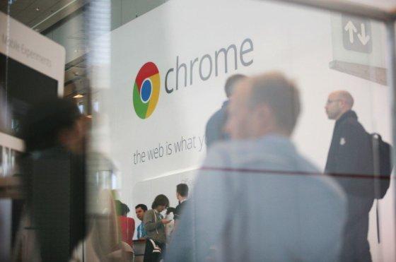 "AFP/""Scanpix"" nuotr./Interneto naršyklės ""Google Chrome"" logotipas"