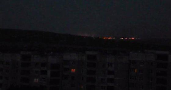 Kadras iš filmuotos medžiagos/Mūšiai prie Luhansko