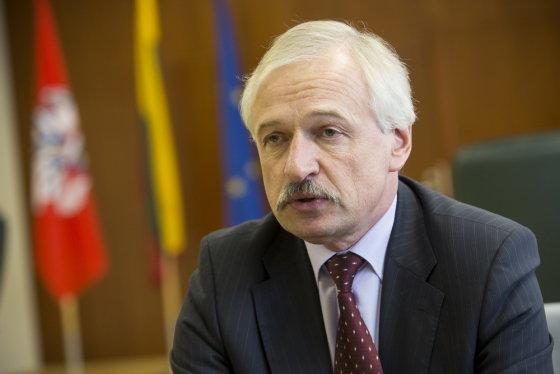 Andriaus Ufarto/BFL nuotr./Ūkio ministras Evaldas Gustas