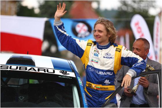 """""""Subaru Poland Rally Team"""" komandos nuotr./Dominykas Butvilas"""