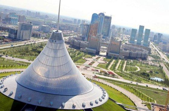 """AFP/""""Scanpix"""" nuotr./Kazakstano sostinė Astana"""