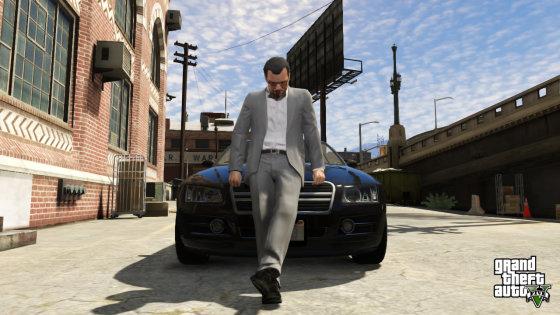 """Rockstargames.com iliustr./Žaidimo """"GTA 5"""" kadras"""