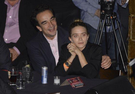 "AFP/""Scanpix"" nuotr./Olivier Sarkozy ir Mary Kate Olsen"