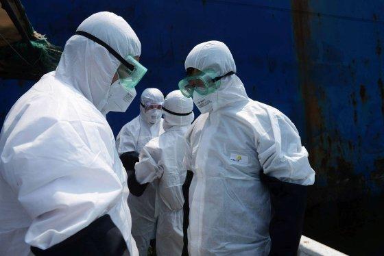 """AFP/""""Scanpix"""" nuotr./Ebolos virusas"""