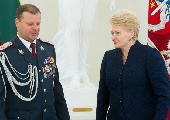 BFL/ Vyganto Skaraičio nuotr./Saulius Skvernelis ir Dalia Grybauskaitė