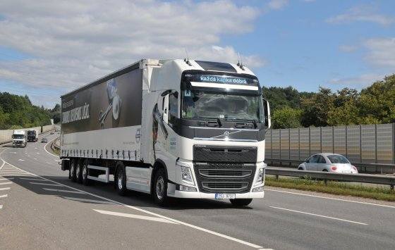 """Volvo trucks"" nuotr./""The drivers' fuel challenge"" varžybos"
