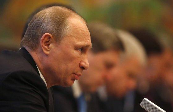 """""""Reuters""""/""""Scanpix"""" nuotr./Rusijos prezidentas Vladimiras Putinas Kinijoje"""