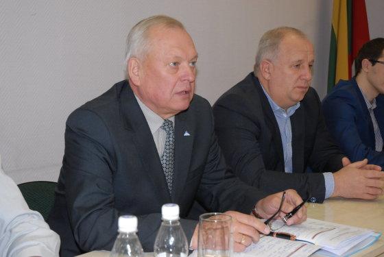 """Sigito Grinčinaičio (""""Šilutės naujienos"""") nuotr./Darbo partijos kandidatas į Šilutės mero postą R.Renčeliauskas."""