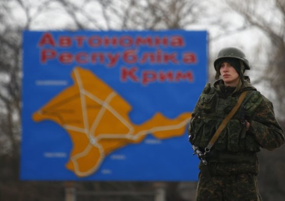 """Reuters""/""Scanpix"" nuotr./Rusų karys Kryme"