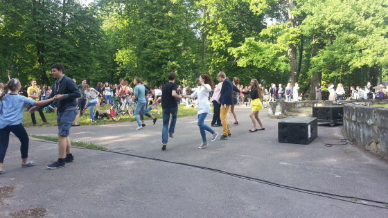 """Igno Jucio nuotr. /Kaune vyko jaunimo organizuojamas renginys """"Padžiauk Sofą""""."""